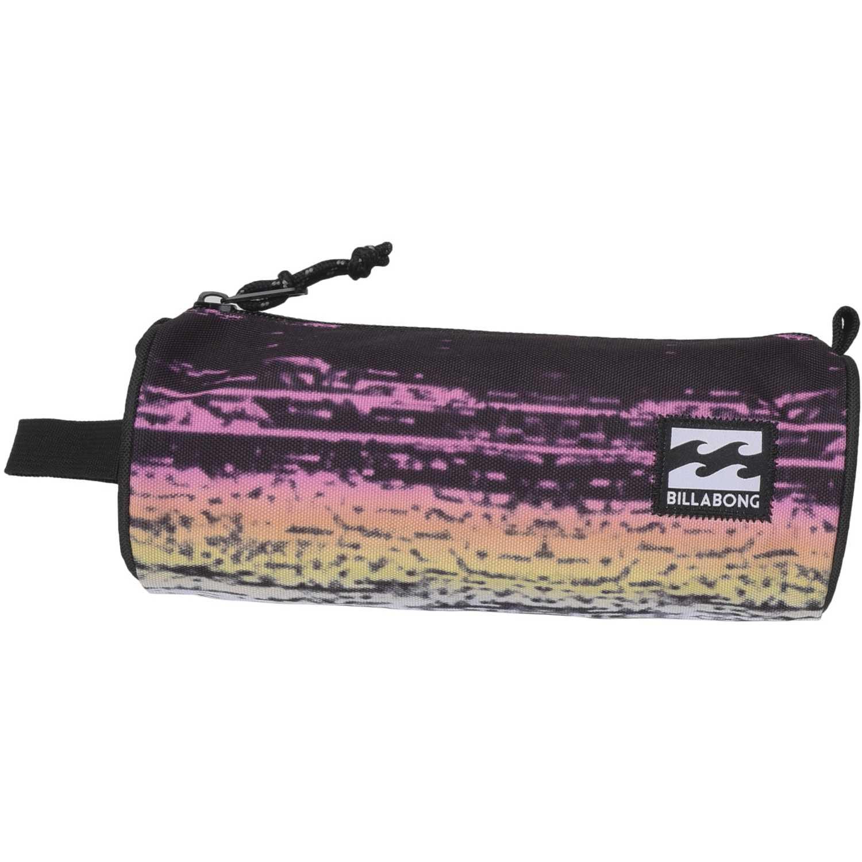 Cartuchera de Hombre Billabong Negro / rosado barrel pencil case