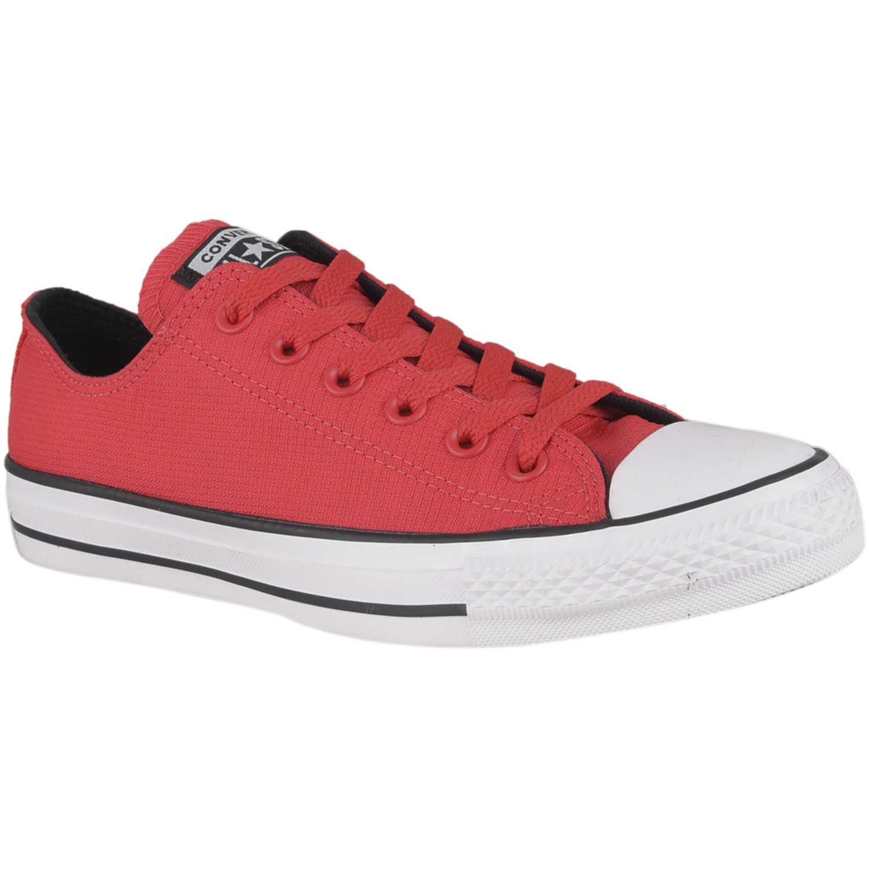 Casual de Hombre Converse Rojo / blanco ctas lightweight nylon ox