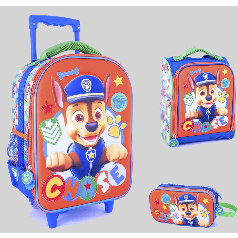 Paw Patrol 9 Scool Paw Patrol H Set Eva 3d Med_A Naranja Maletas para niñas y niños
