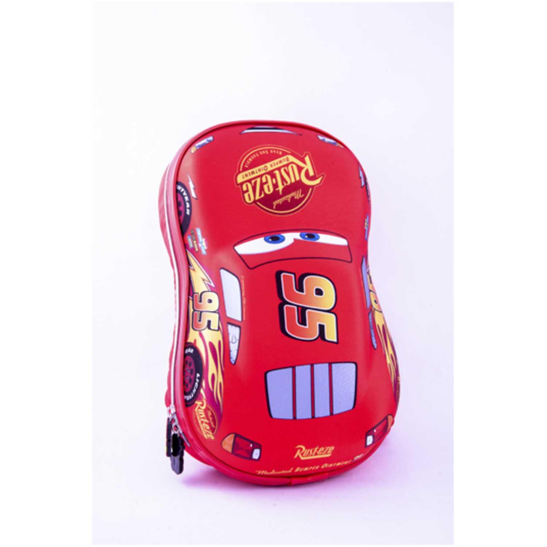 Cars 9 cars mochila eva kids con forma Rojo mochilas