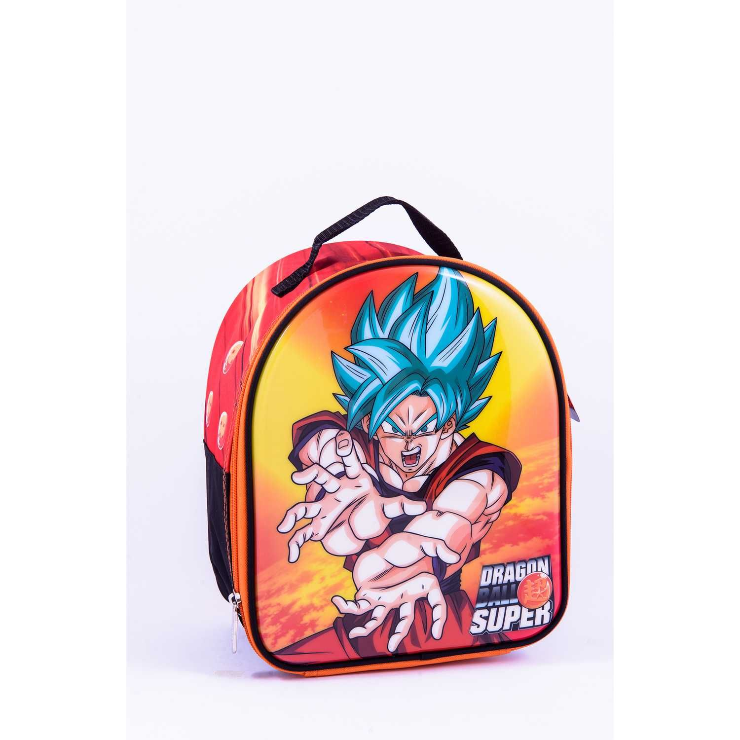 DRAGON BALL 9 SCOOL DRAGON BALL LONCH STRONG DLX Amarillo Loncheras