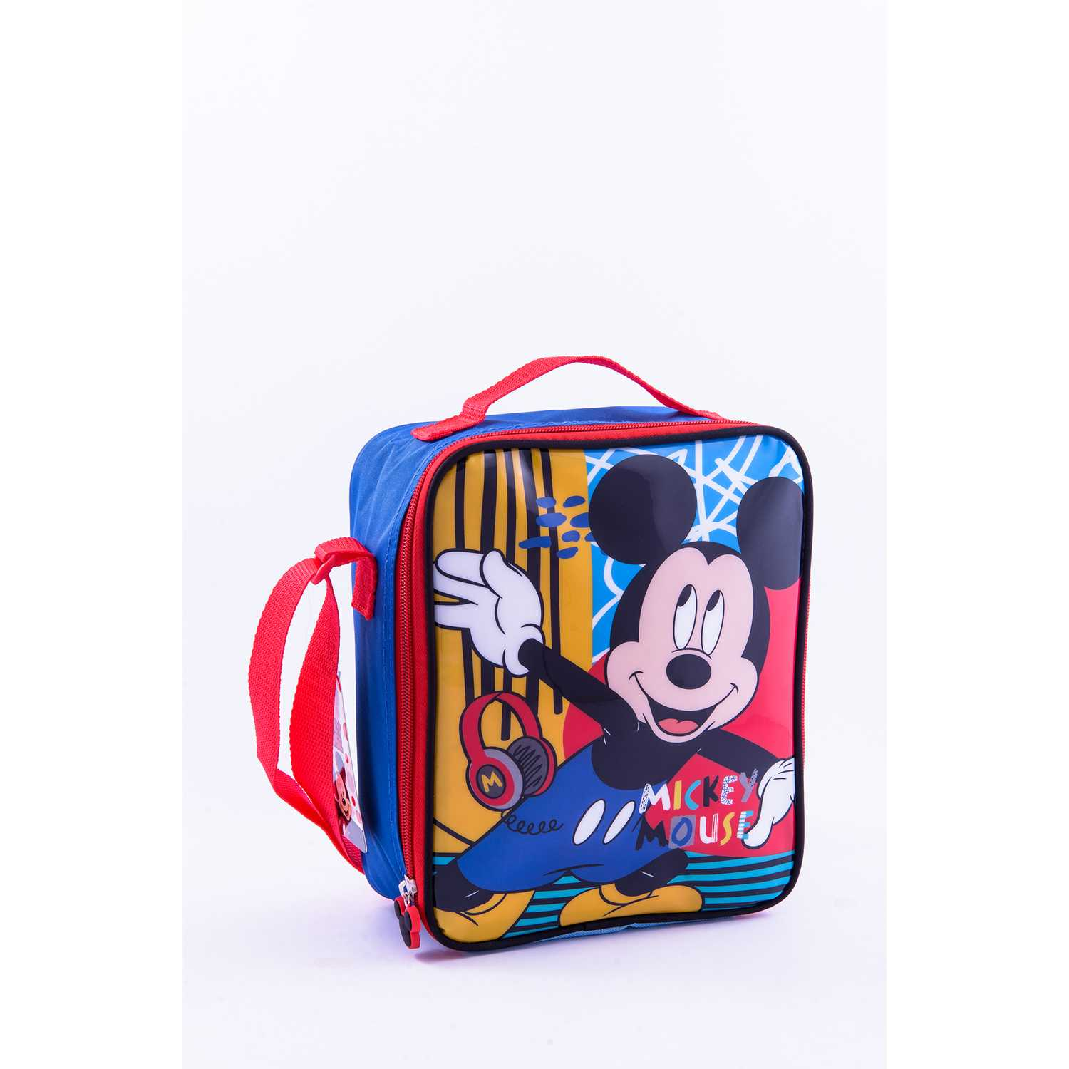 Lonchera de Niño Scool Amarillo 9 scool mickey lonch vertical