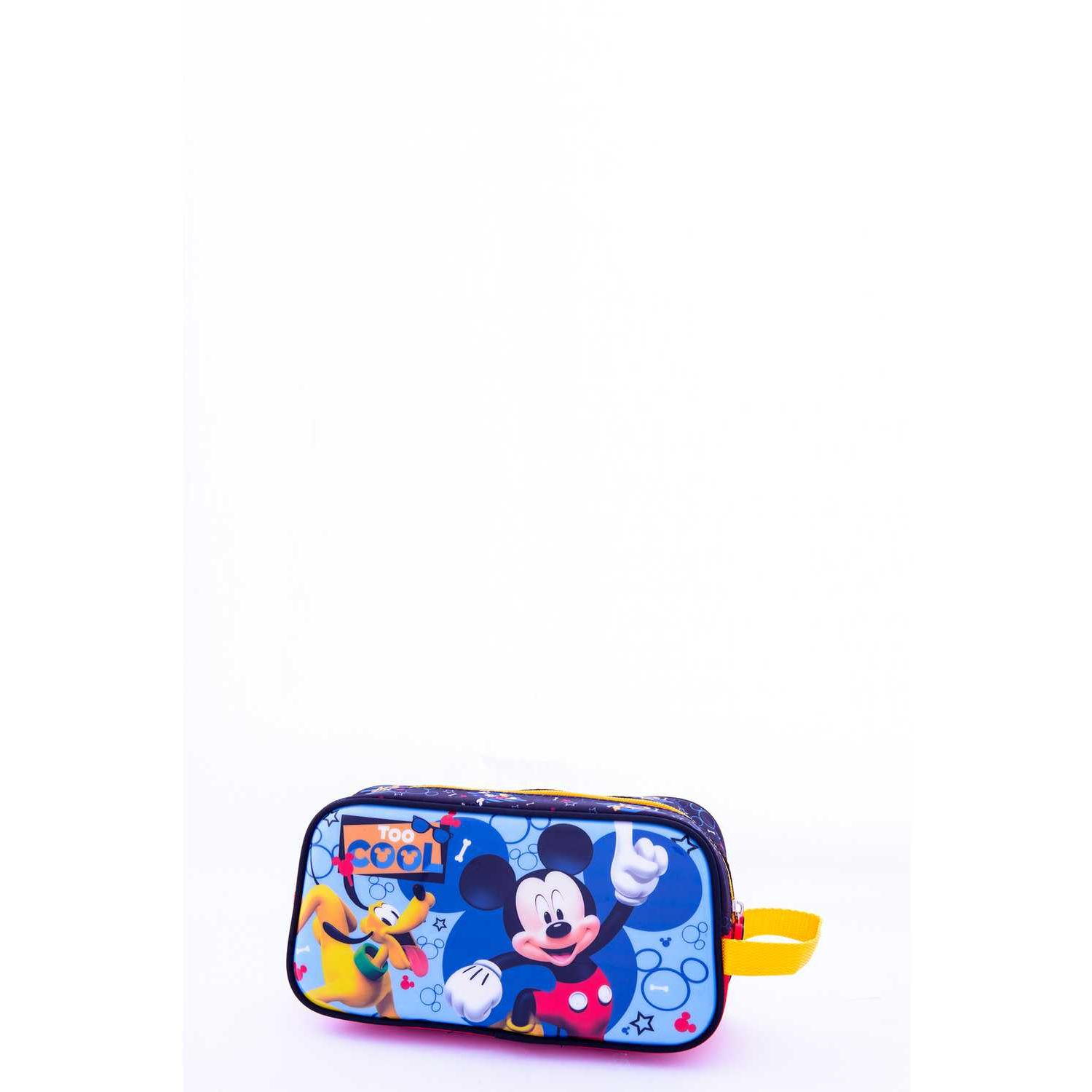 Mickey 9 Scool Mickey Cart Strong Division Azul Portalápices
