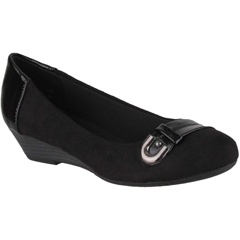 Cuña de Mujer Platanitos Negro cw 9260