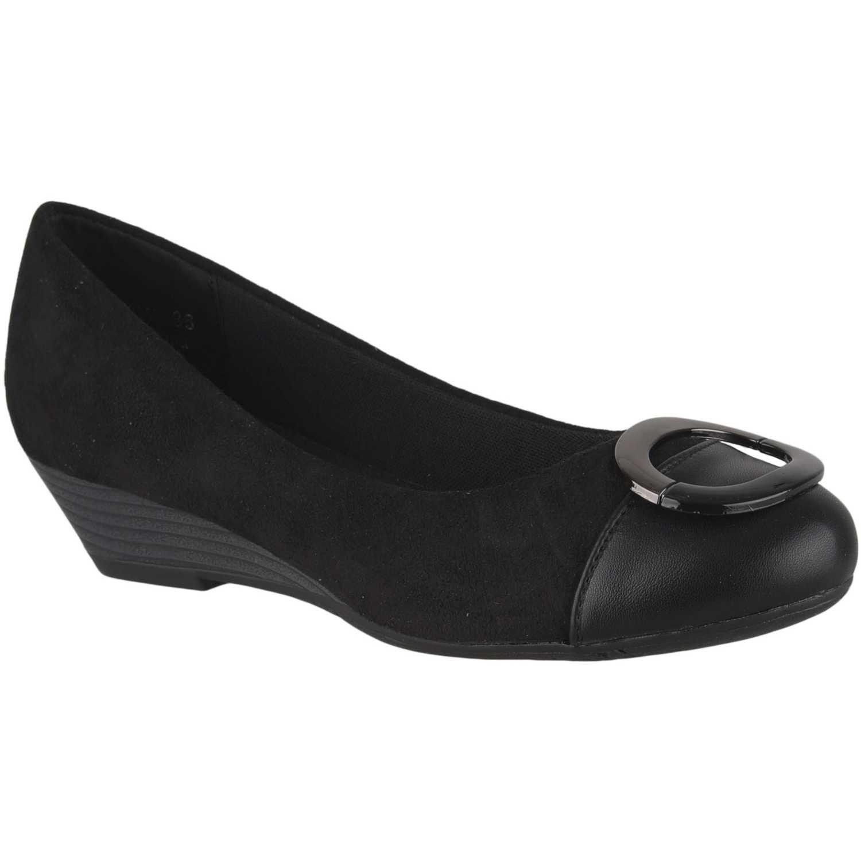 Cuña de Mujer Platanitos Negro cw 9259