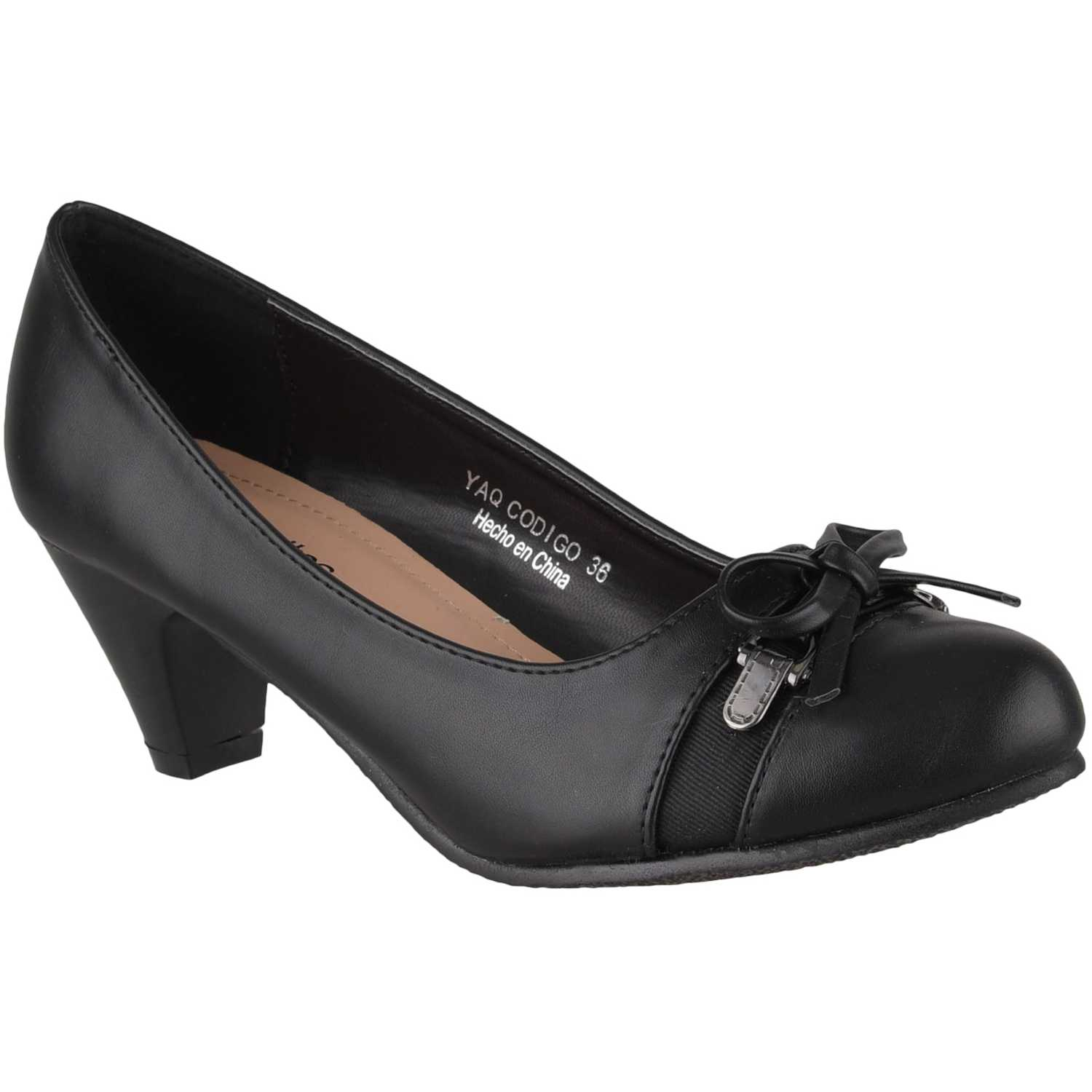 Platanitos cv 1635 Negro Estiletos y Pumps