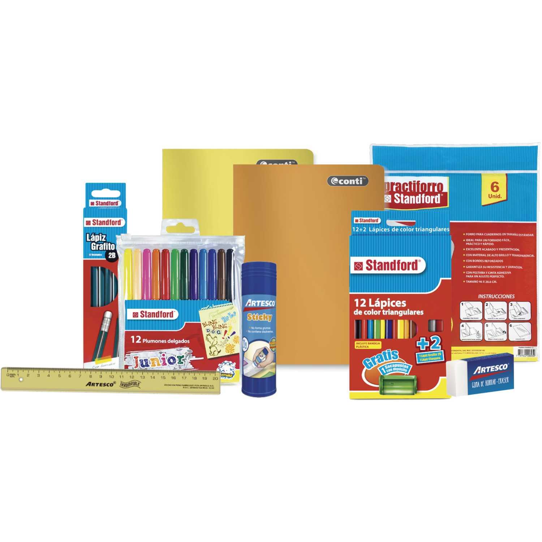 Continental pack 2019-2 standard Varios Multi función de escritura