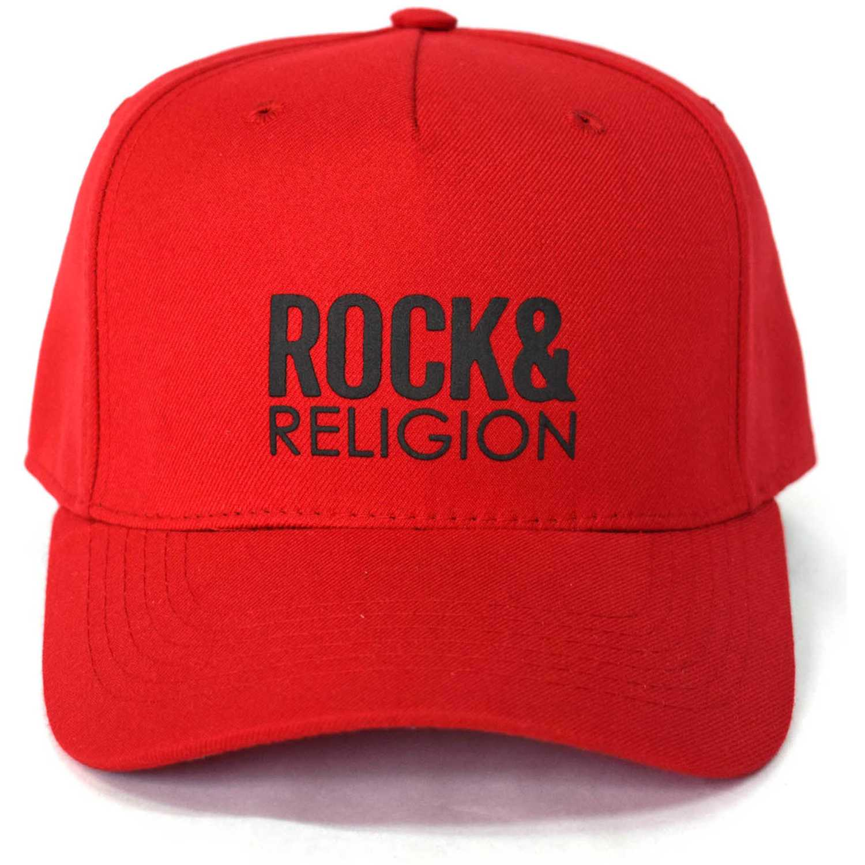 Gorros de Hombre ROCK & RELIGION Rojo / negro siena