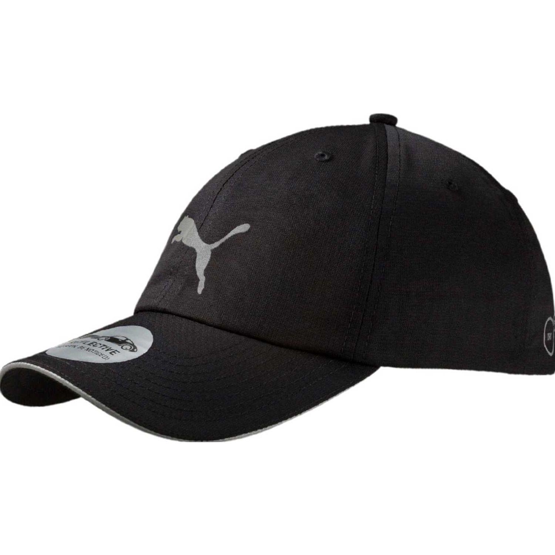 Puma unisex running cap iii Negro / blanco Gorros de Baseball