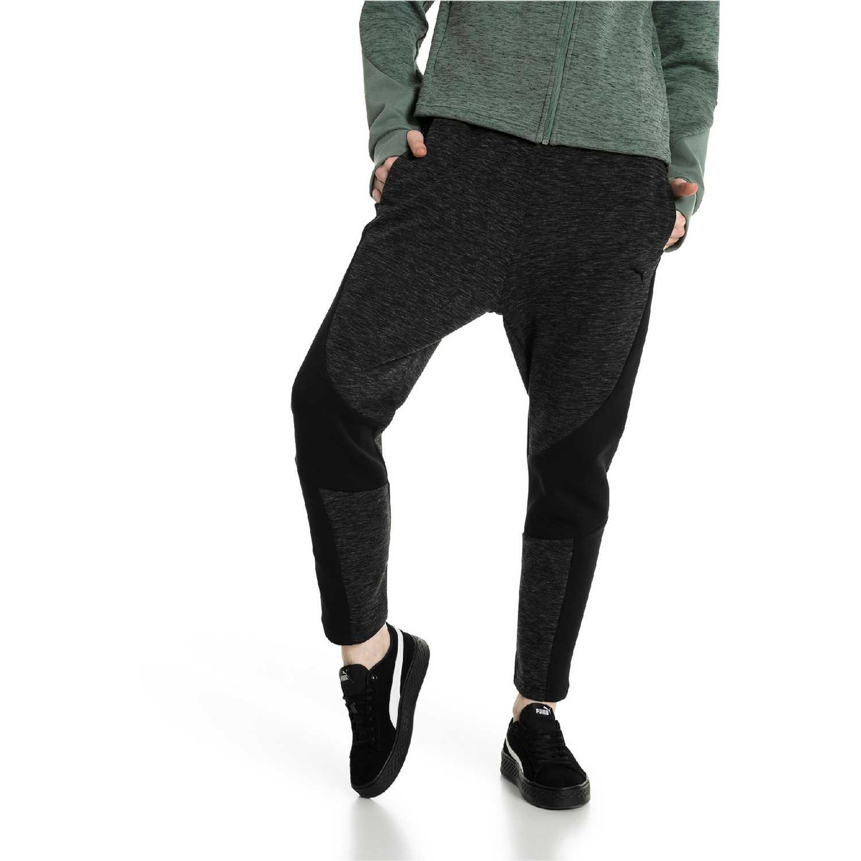 Puma EVOSTRIPE Pants NEGRO / GRIS Leggings Deportivos