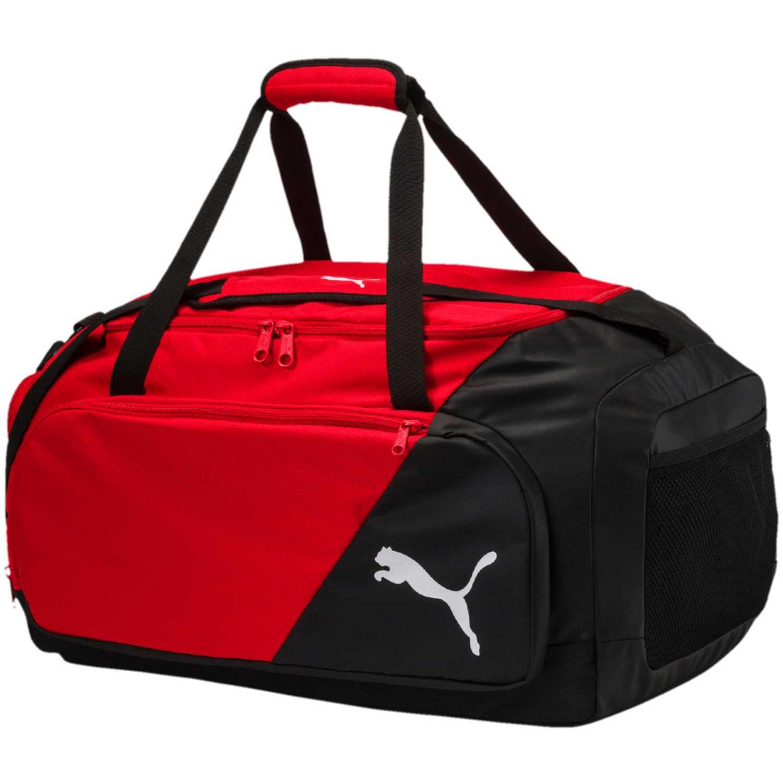 Puma liga medium bag Negro / rojo Duffels deportivos