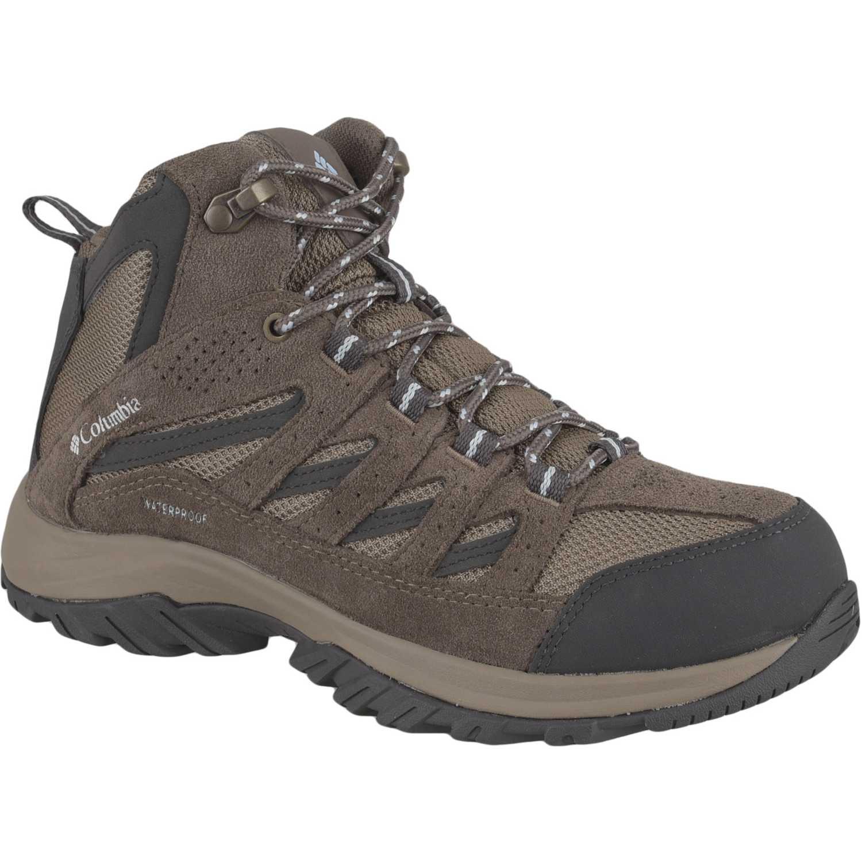 Columbia crestwood mid water Marrón / negro Calzado hiking