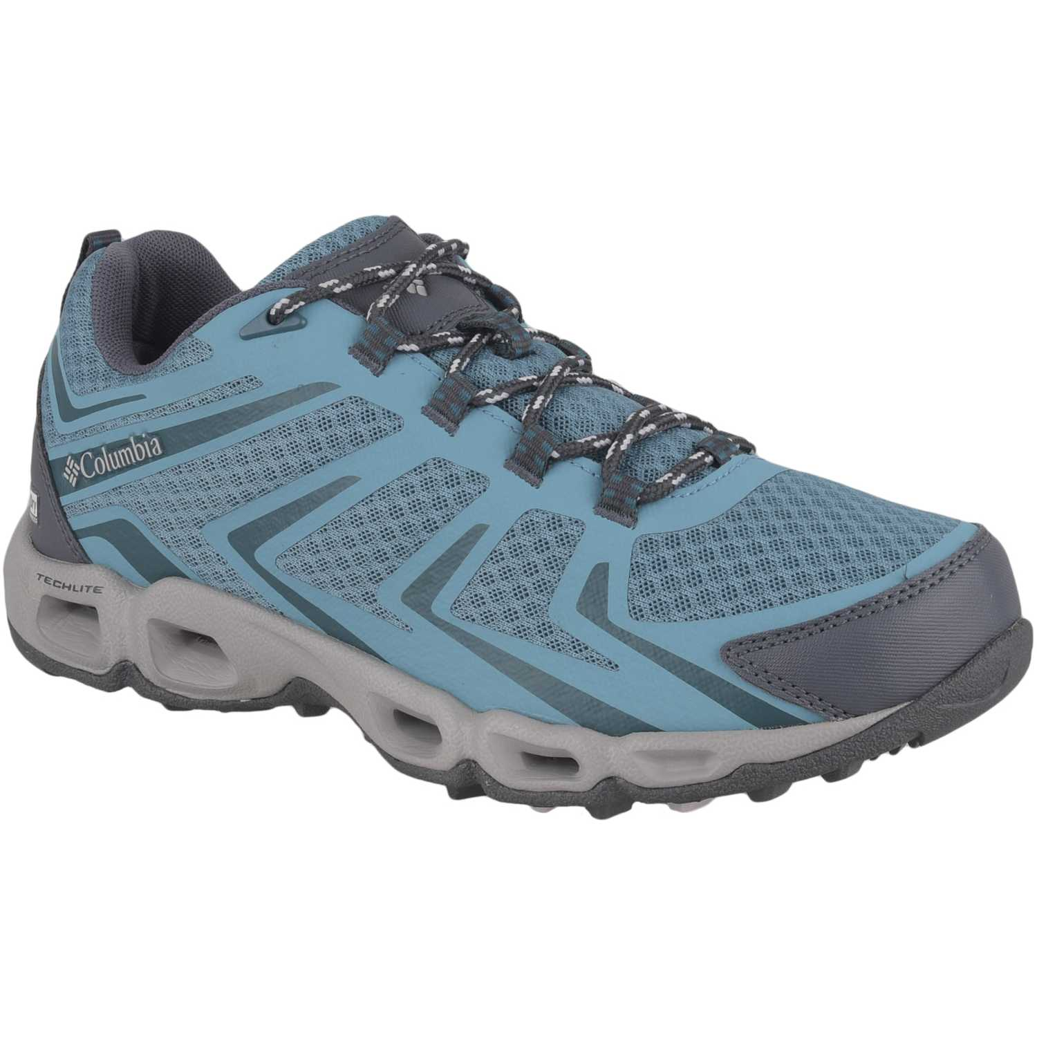 Columbia ventrailia 3 low Celeste / plomo Calzado hiking