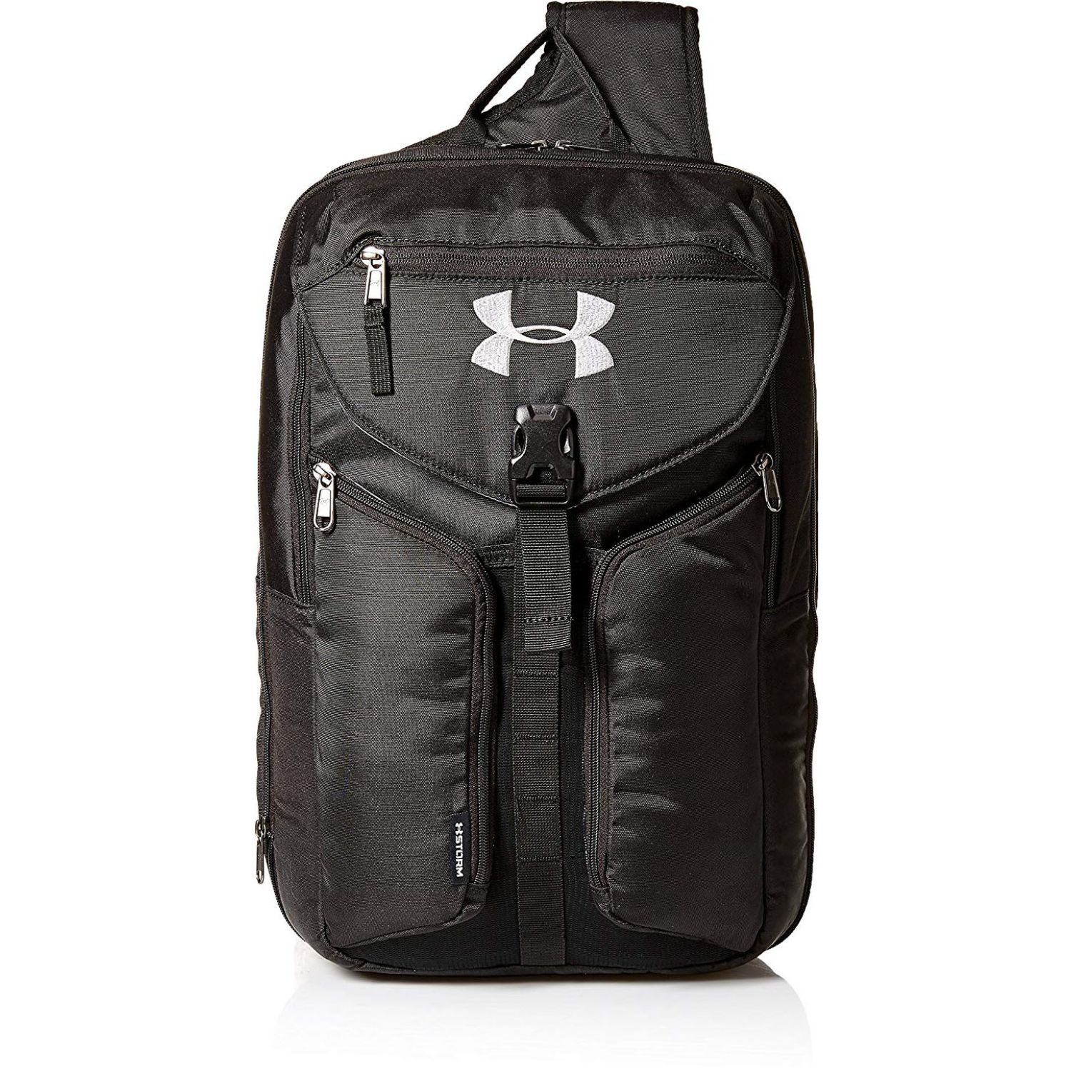 Under Armour Compel Sling 2.0 NEGRO / GRIS Mochilas Multipropósitos