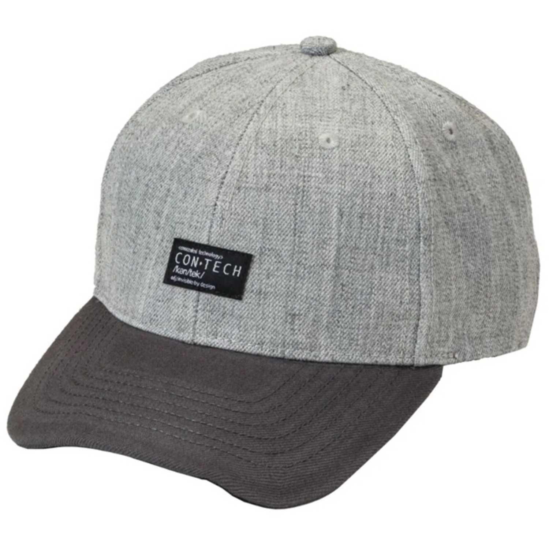 Gorro de Hombre CAT Gris / plomo contech hat