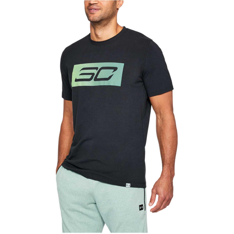 Under Armour sc30 logo tee Negro Camisetas y Polos Deportivos