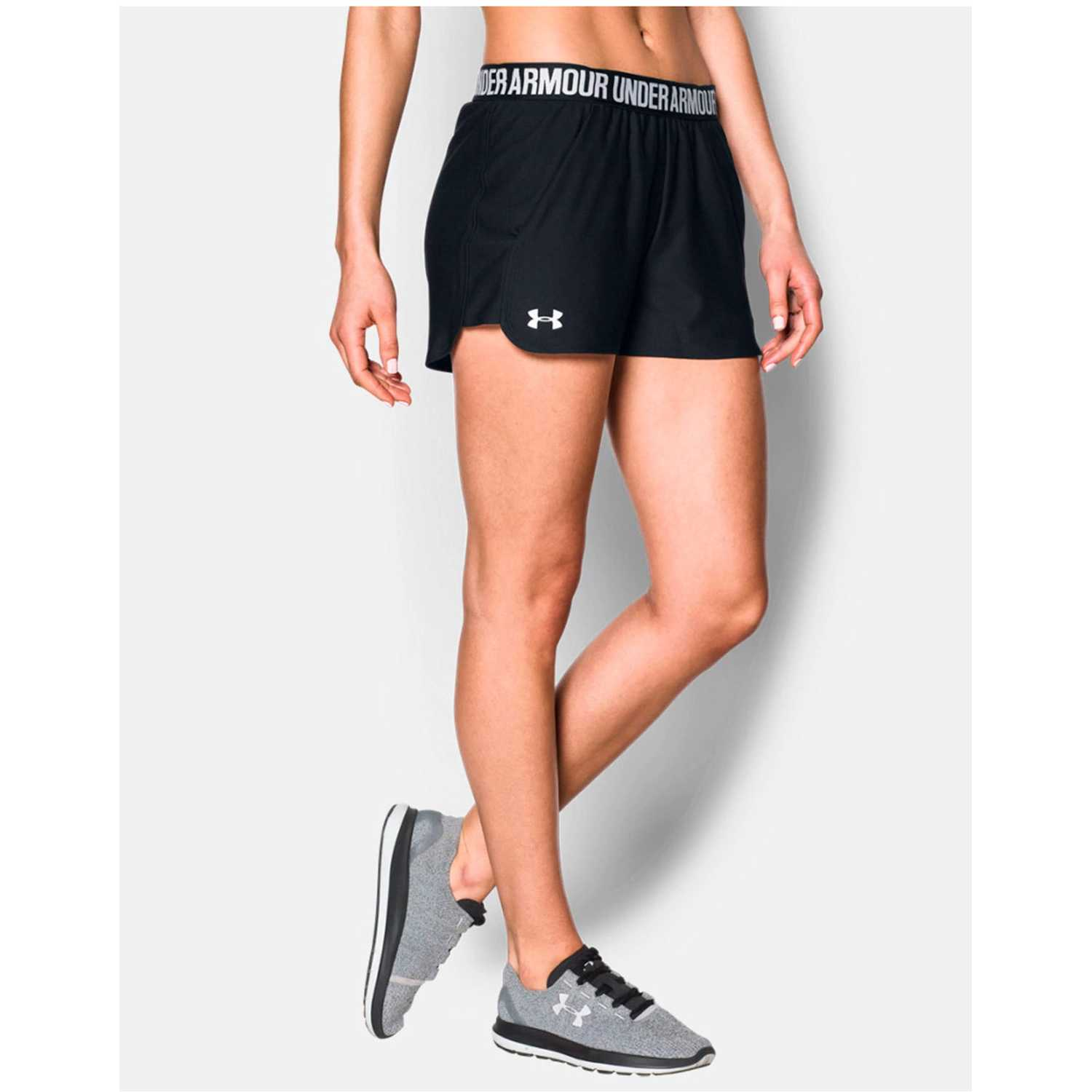 Under Armour NEW Play Up Short Negro Shorts Deportivos