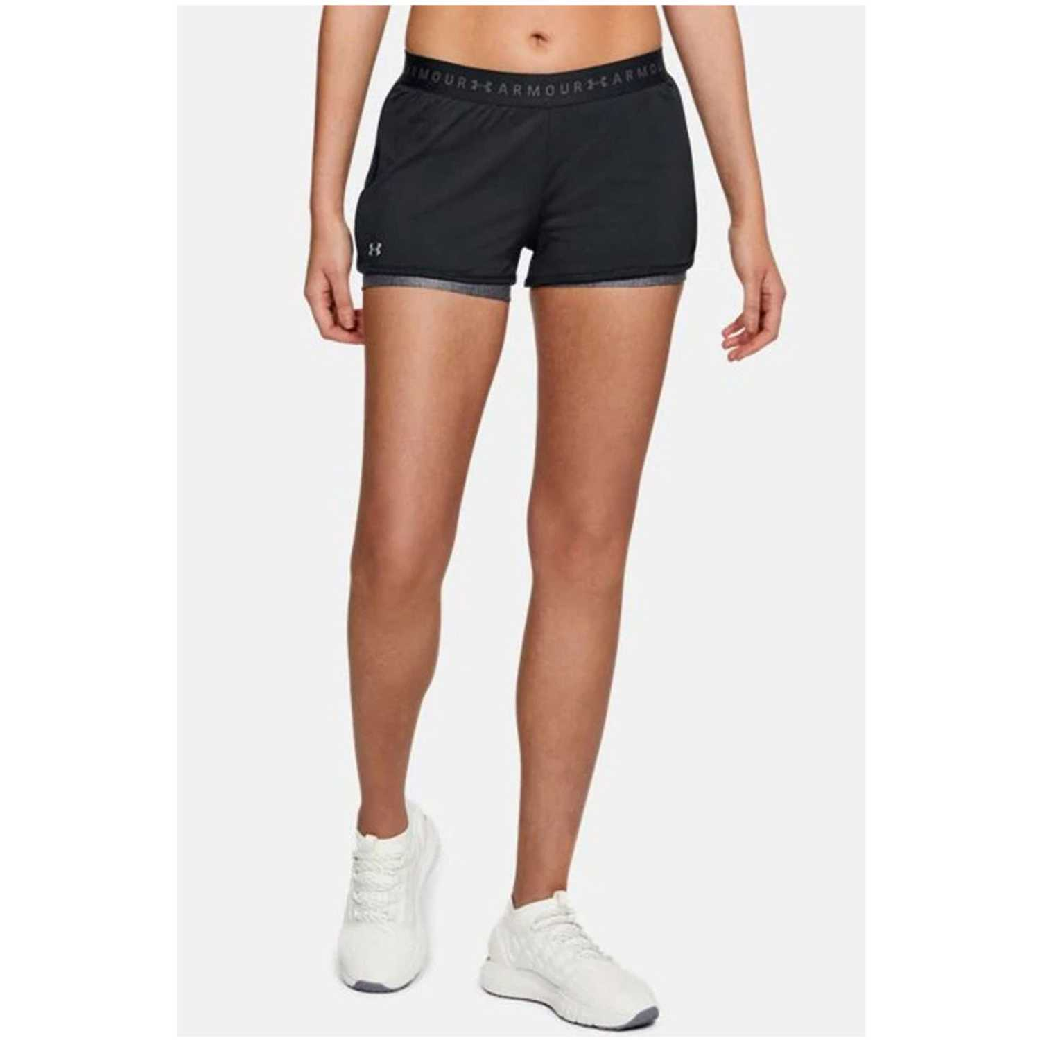 Under Armour hg armour 2-in-1 short Negro Shorts Deportivos
