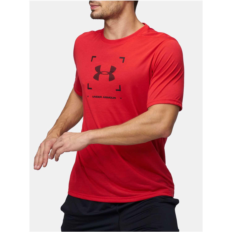 Under Armour threadborne target logo ss Rojo Camisetas y Polos Deportivos