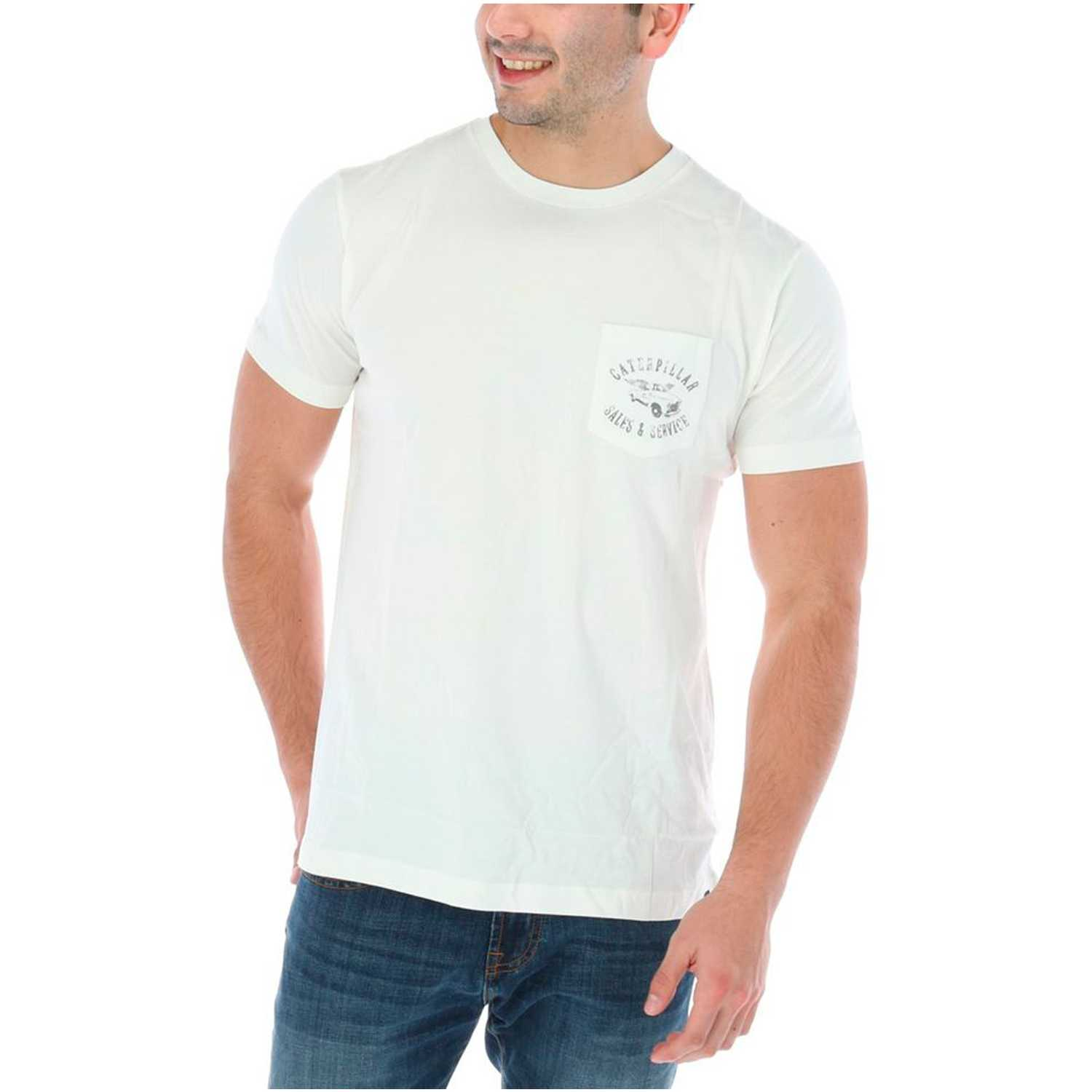 CAT on time tee Beige Polos