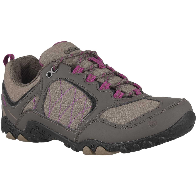 Hi-Tec mayfield PLOMO / FUCSIA Calzado hiking