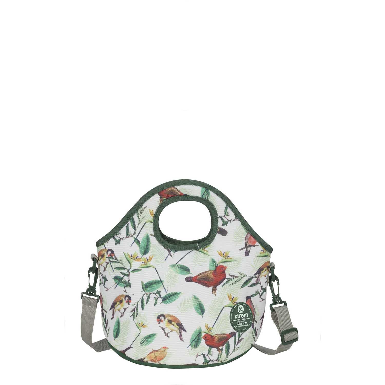 Xtrem lunch bag birds blossom neo 845 Blanco / gris Loncheras