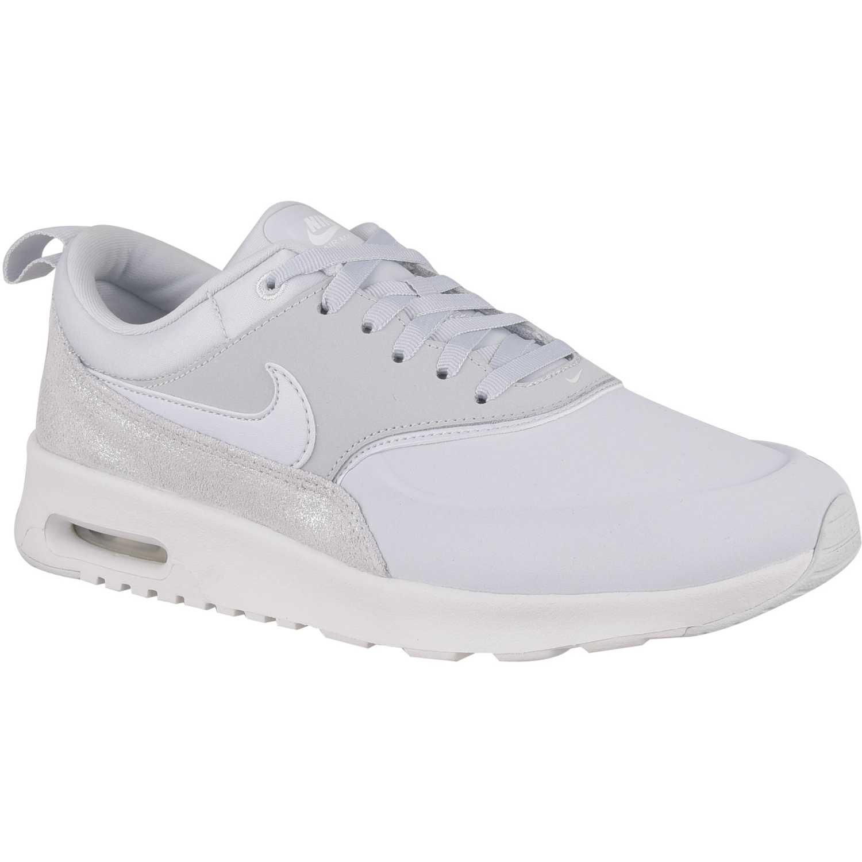 Nike wmns nike air max thea prm Blanco/blanco Walking