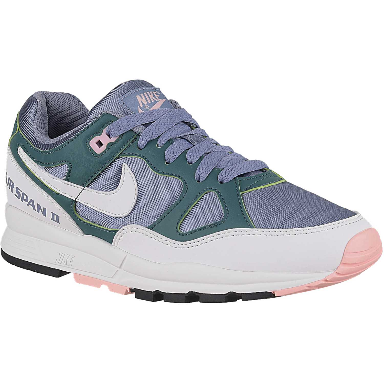 Nike wmns air span ii Morado / verde Walking