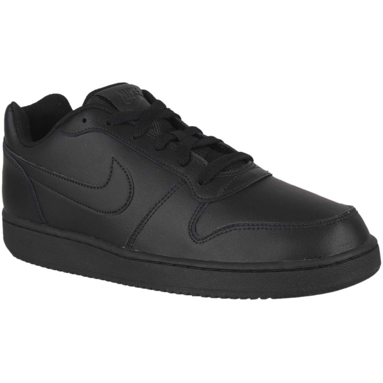 Nike nike ebernon low Negro / negro Walking