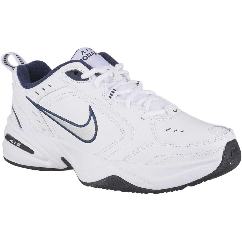 Nike air monarch iv Blanco / azul Hombres