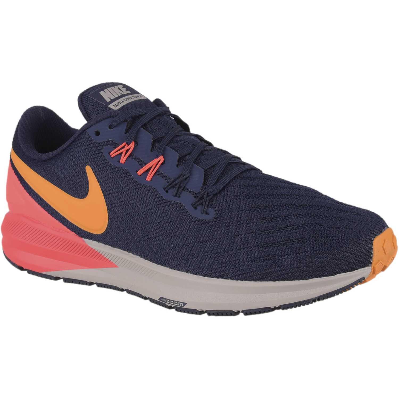 Nike nike air zoom structure 22 Azul / rojo Running en pista