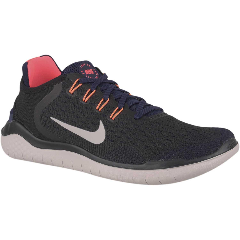 Nike nike free rn 2018 Negro naranja Running en pista