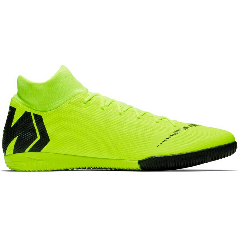 Nike superflyx 6 academy ic AMARILLO / NEGRO Hombres