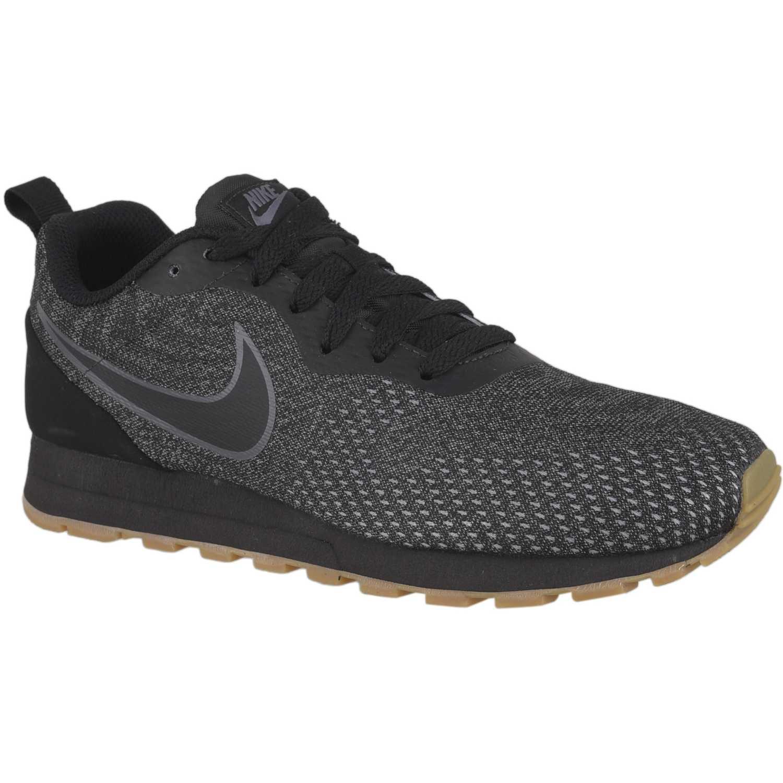 Nike wmns nike md runner 2 eng mesh Negro gris Walking