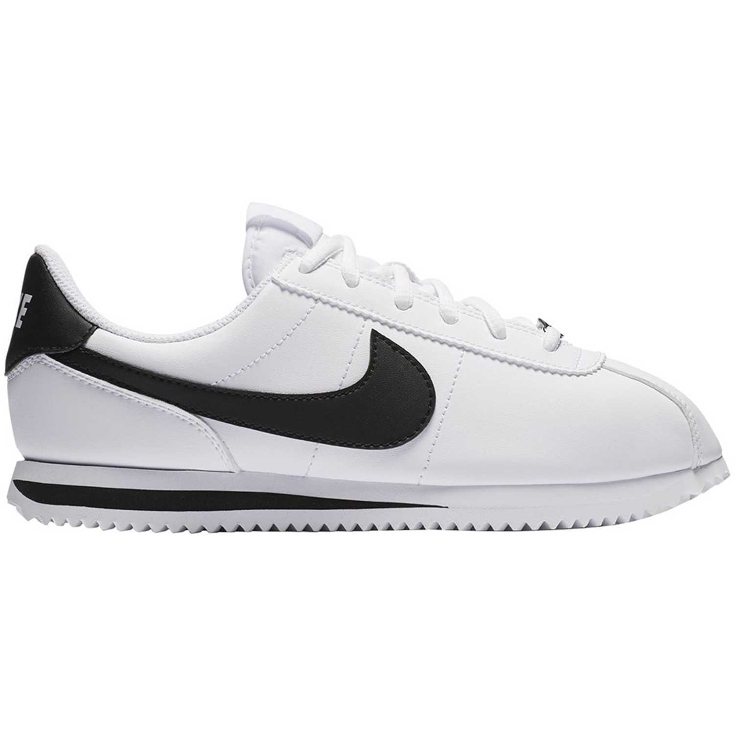 Nike cortez basic sl bg Blanco / negro Walking