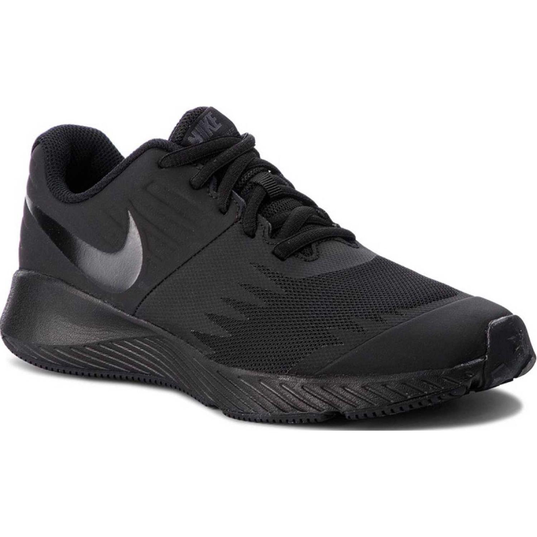 Zapatilla de Jovencito Nike negro / negro nike star runner bg