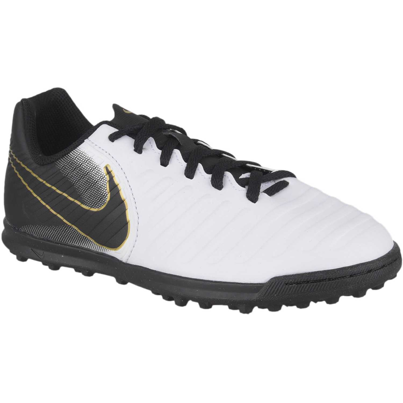 Zapatilla de Jovencito Nike Negro / blanco jr legendx 7 club tf