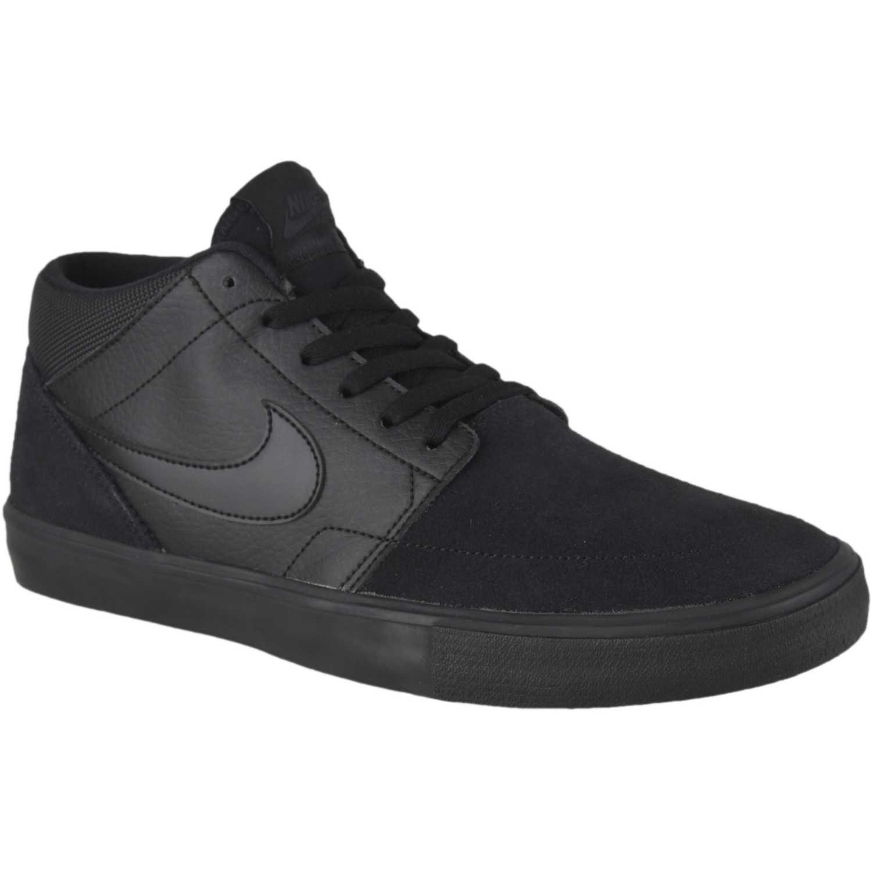 Nike nike sb portmore ii solar mid Negro Hombres