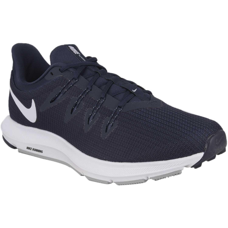 Nike nike quest Azul / blanco Running en pista