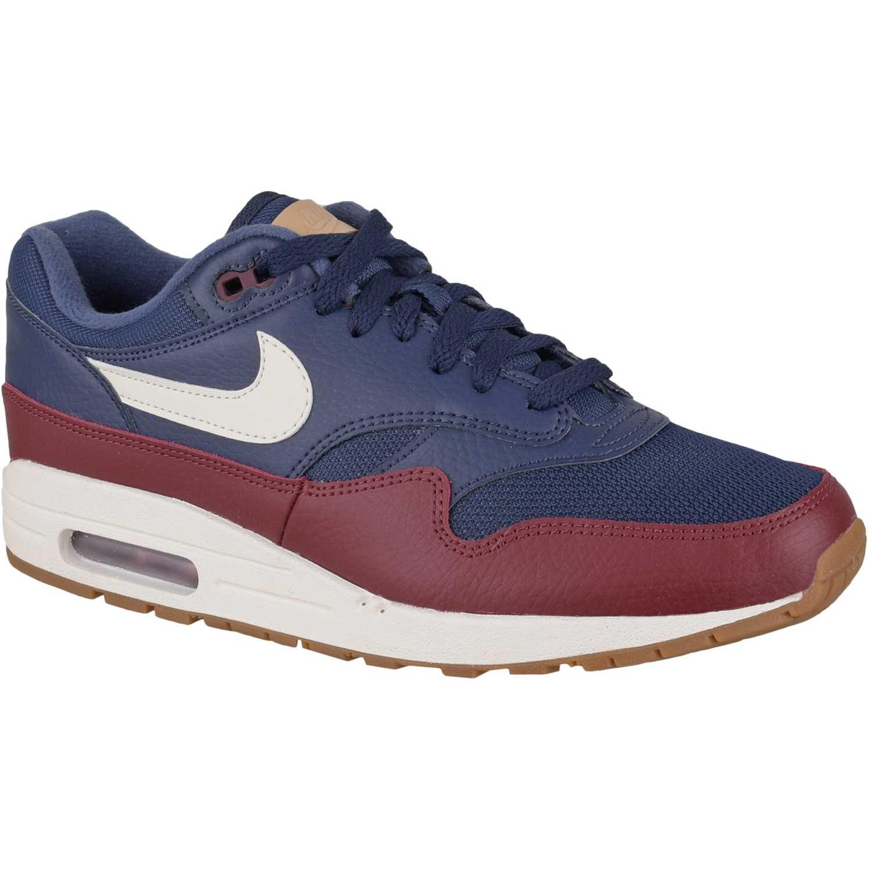 baskets pour pas cher 1c442 a226b Casual de Hombre Nike Azul / rojo nike air max 1 ...