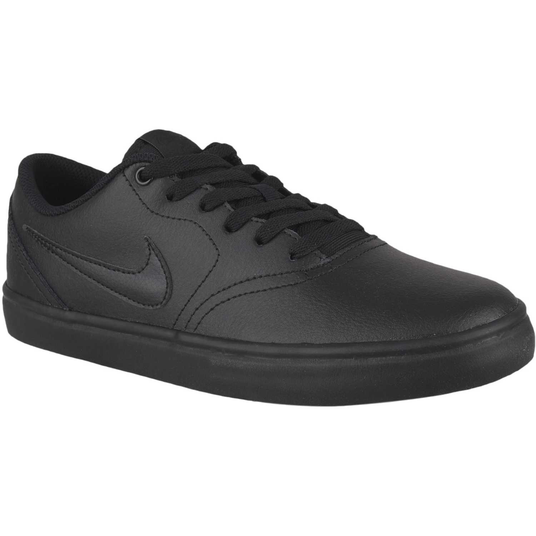 Nike nike sb check solar Negro / negro Hombres