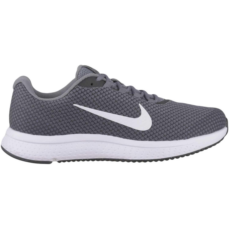 Nike nike runallday Gris / blanco Running en pista