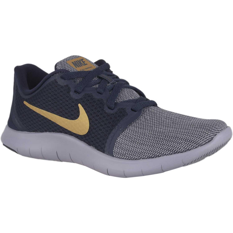 2018 Perfect Zapatillas Nike Flex RN gris azul mujer M1104074