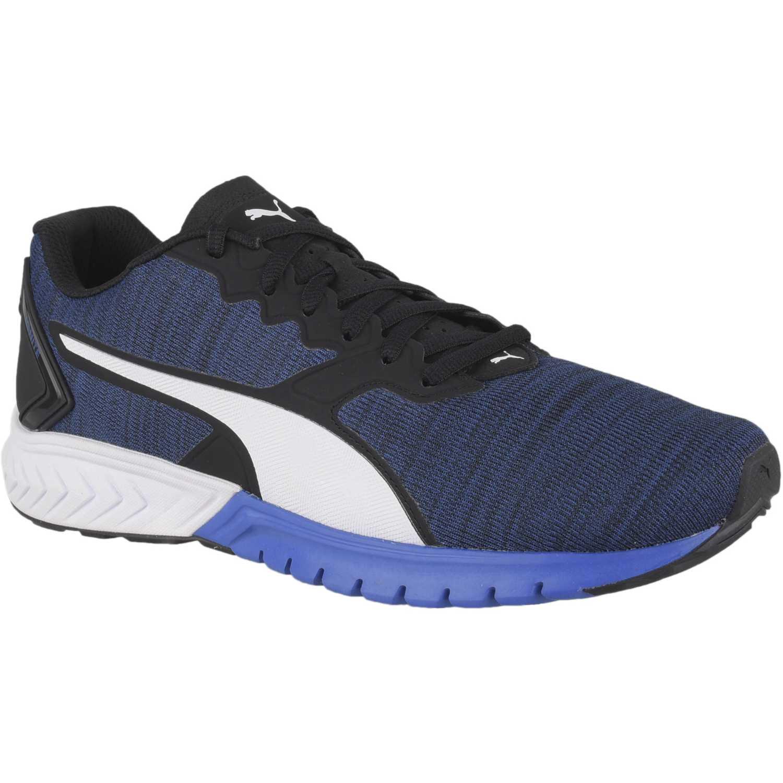 Puma ignite dual nm Azulino / negro Running en pista