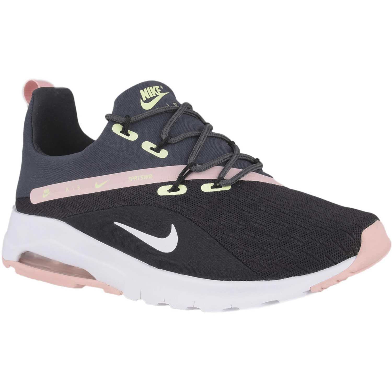 Nike wmns air max motion racer 2 Negro rosado Walking
