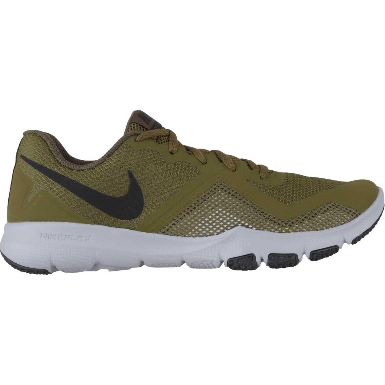 Nike nike flex control ii Verde / plomo Hombres