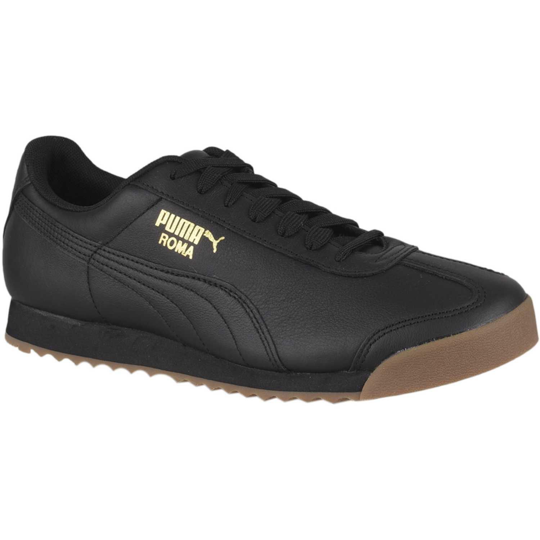 Puma roma classic gum Negro Walking