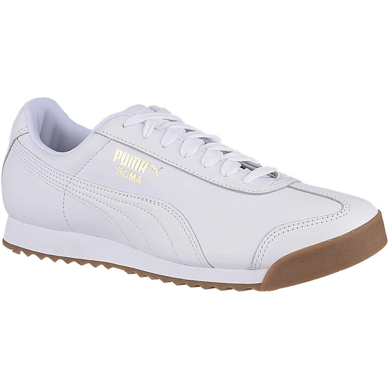 Puma Roma Classic Gum Blanco Para caminar