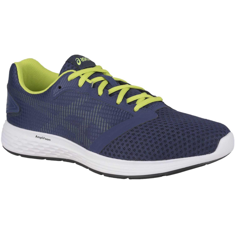 Asics patriot 10 Azul / verde Trail Running