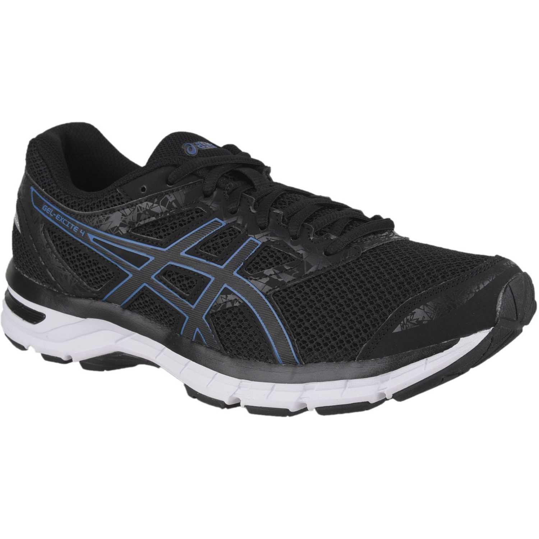 Asics gel excite 4 Negro / azul Running en pista